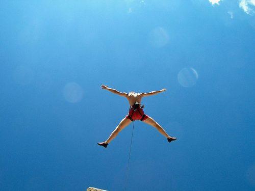 climb free climb fall