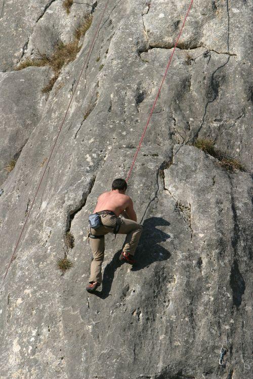 climb rock climbing rope climb