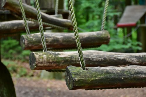 climb high ropes course climbing garden