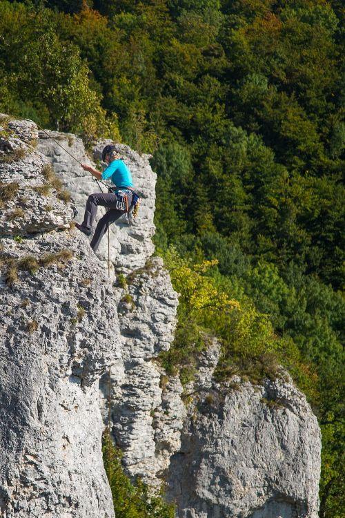 climb climber rock