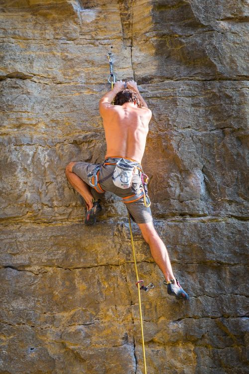 climb mountaineering climber