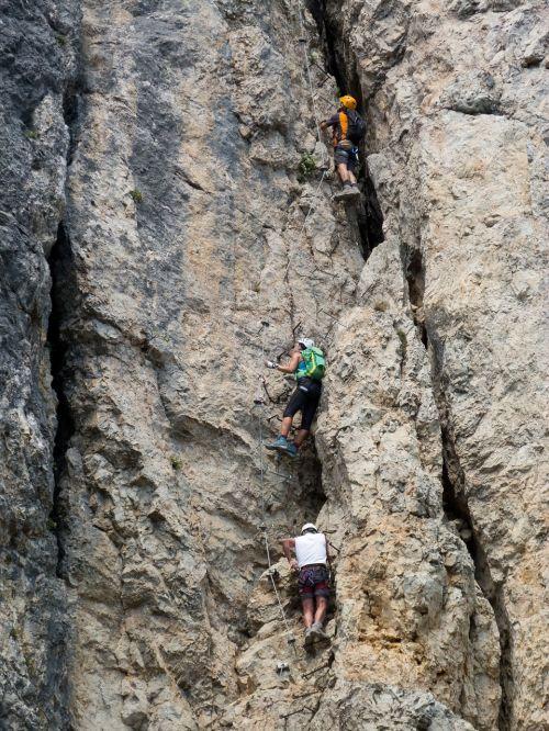 climb climbing rope