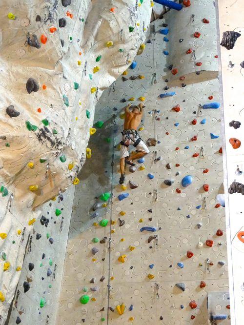 climb climbing wall sport