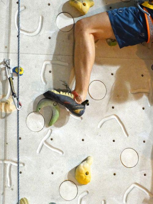 climb occurs leg