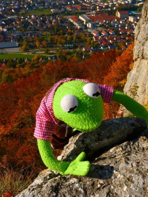 climb rock kermit