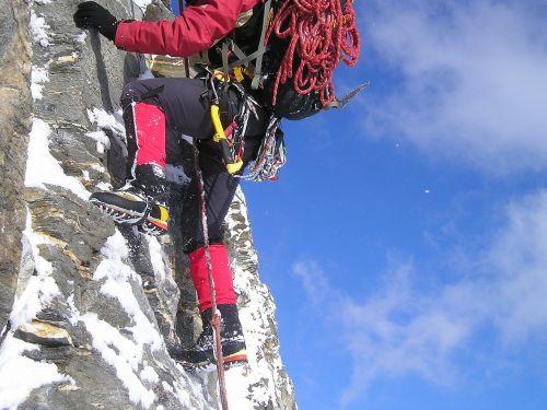 climb ice climbing equipment
