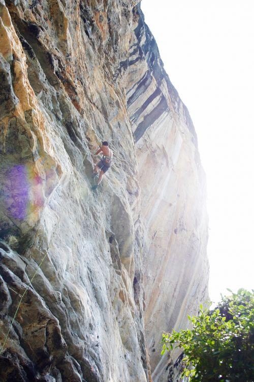 climber climb climbing wall