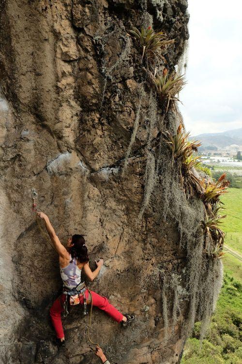 climber rock climb