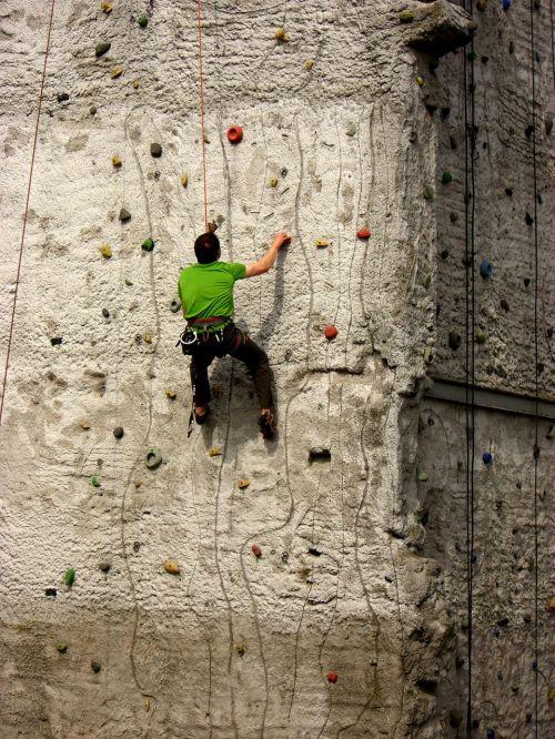 climber climbing tower sport climbing