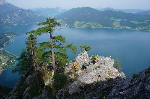 climbing mountaineering village steinbach am attersee