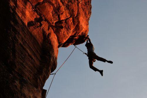 climbing hampi wanderer