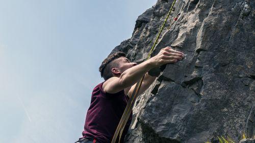 climbing climber sport