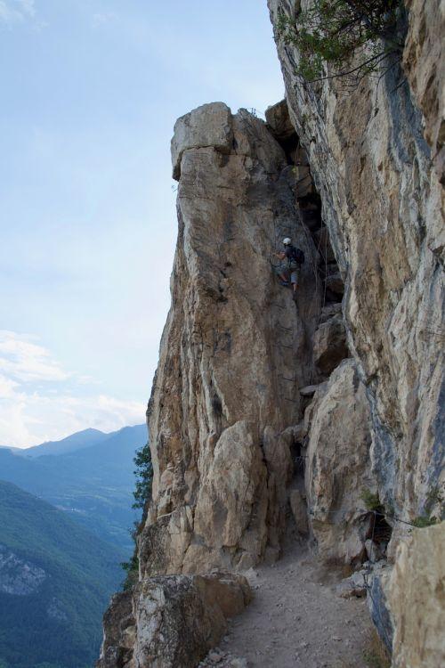 climbing ferrata sport