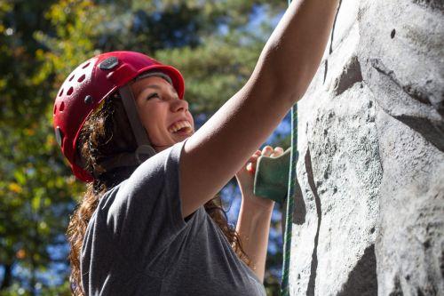climbing girl fun