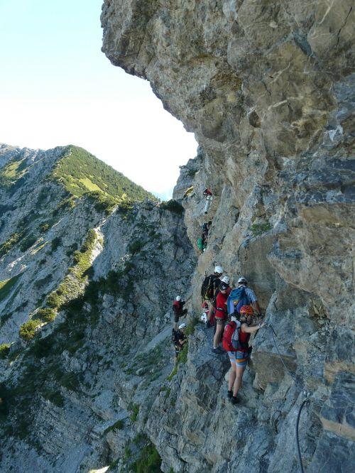 climbing climber bergtour