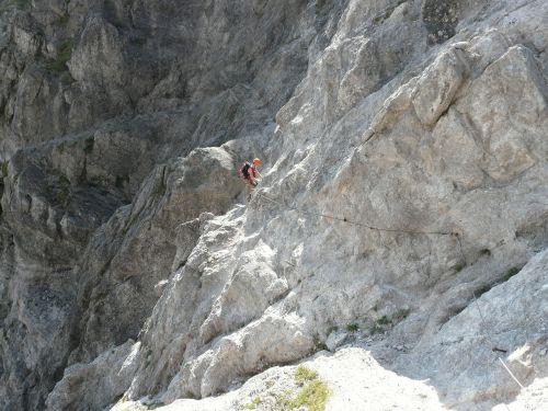 climbing jubilee platform wilderkaiser