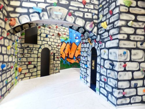 climbing castle climbing hall play castle