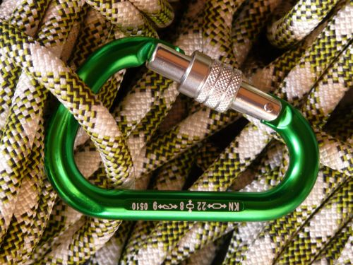 climbing rope carbine rope
