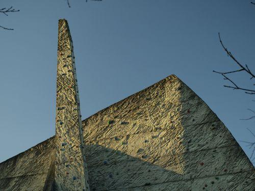 climbing wall stone sport