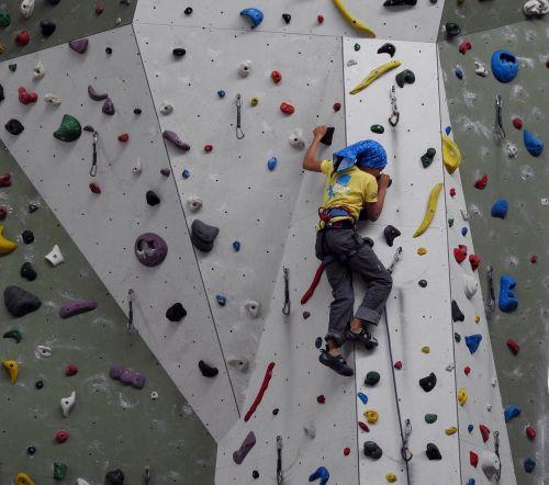 climbing wall climbing hall climb