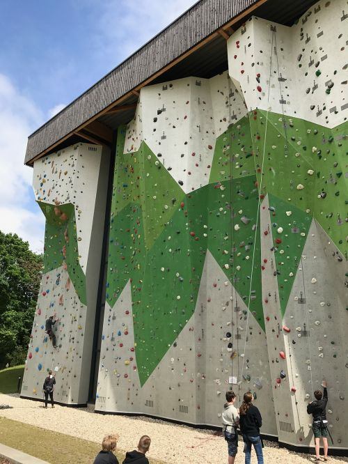 climbing wall outdoor climb