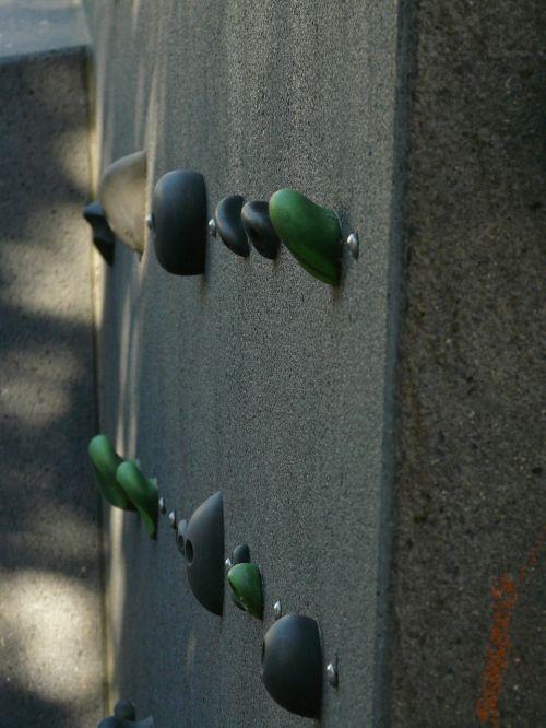 climbing wall climbing holds climb