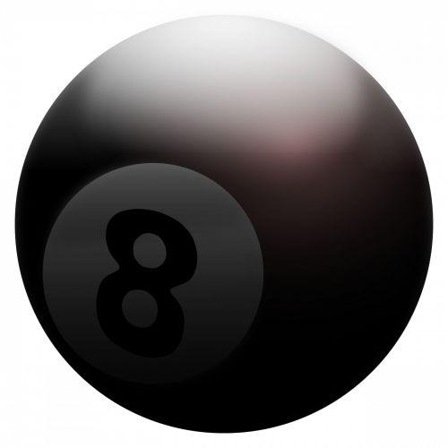 Clip Art 8-ball