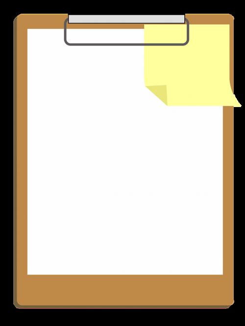 clipart clipboard design