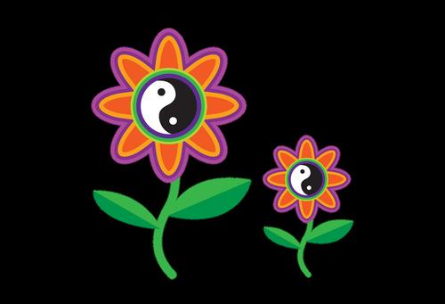 clipart  retro  flower