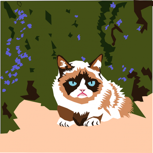 clipart issue feline grumpy cat