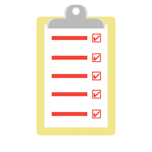 clipboard checklist business