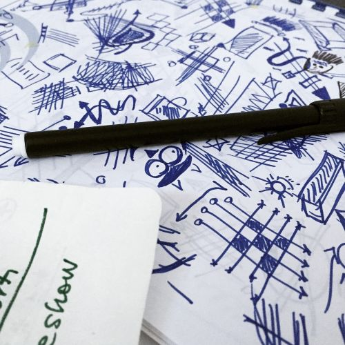 clipboard written designs
