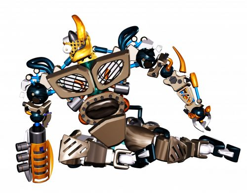 Clipart Robot Sitting Down