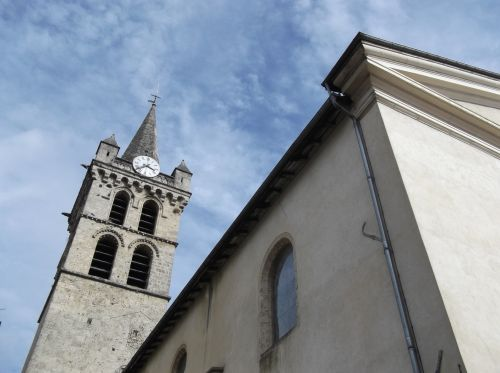 St Marcellin Church Steeple F-38160