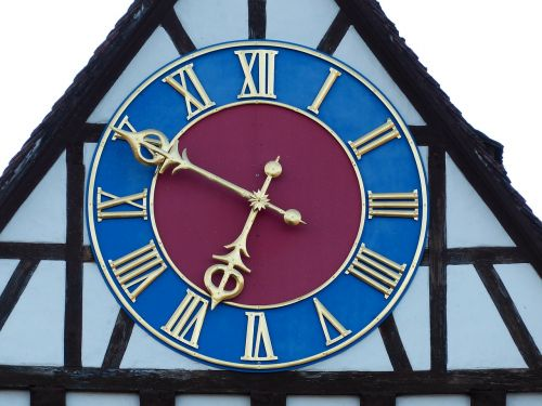 clock time of clock face