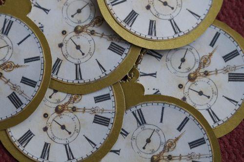 clock pocket watch gold