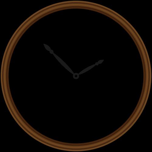 clock retro time