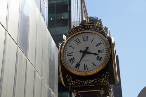 clock trump trump tower