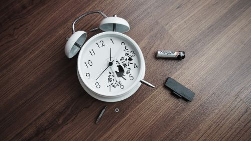 clock time dead