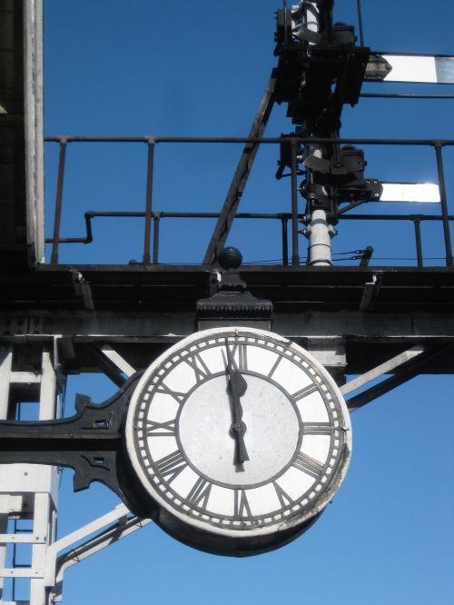 clock yorkshire steam