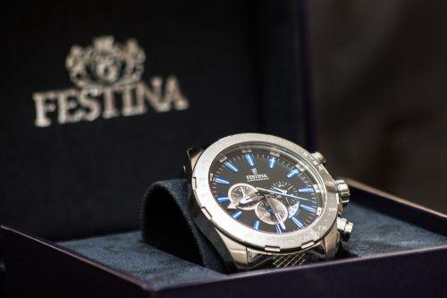 clock festina brand