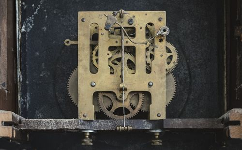 clock gears inside