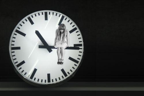 clock hands time