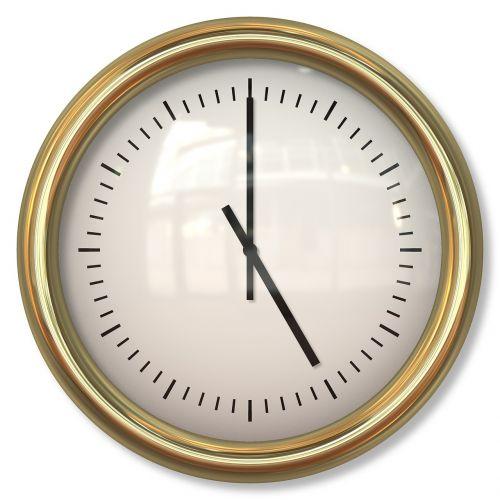 clock time timepiece