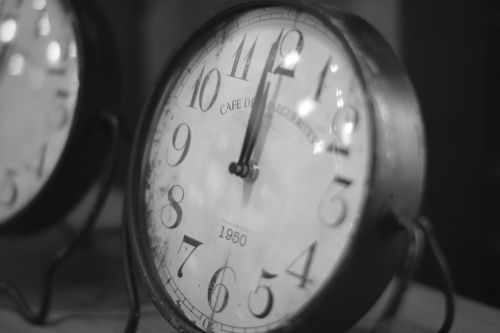 clock vintage clock time