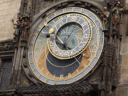 clock town hall prague