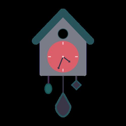 clock cuckoo clock pendulum