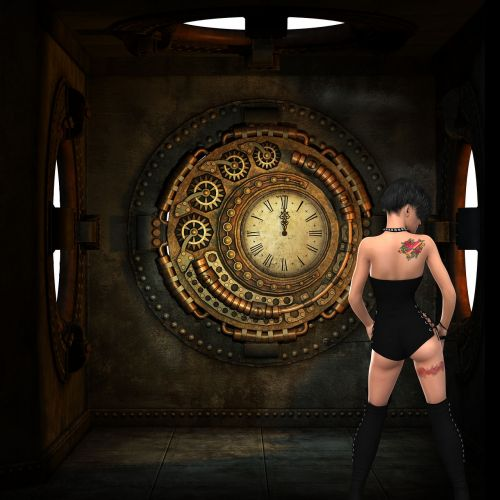clock time artistic