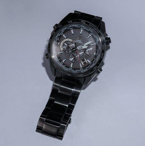 clock wrist watch time indicating