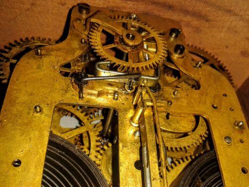 clock steampunk mechanism
